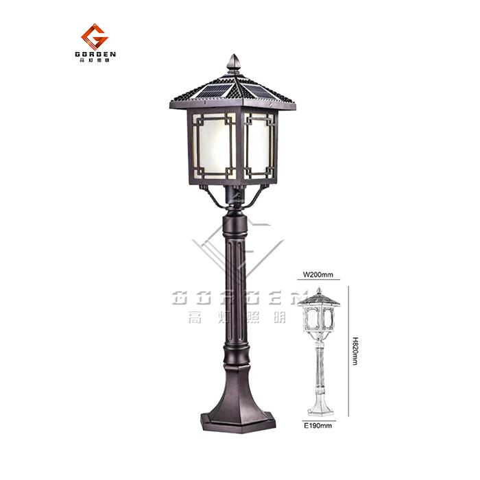 江苏GD-TCP01 太阳能草坪灯