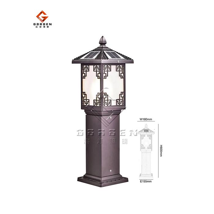 江苏GD-TCP02 太阳能草坪灯