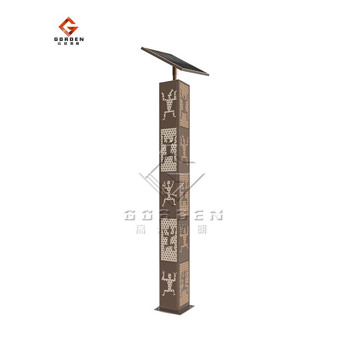 上海GD-TTY02 太阳能庭院灯