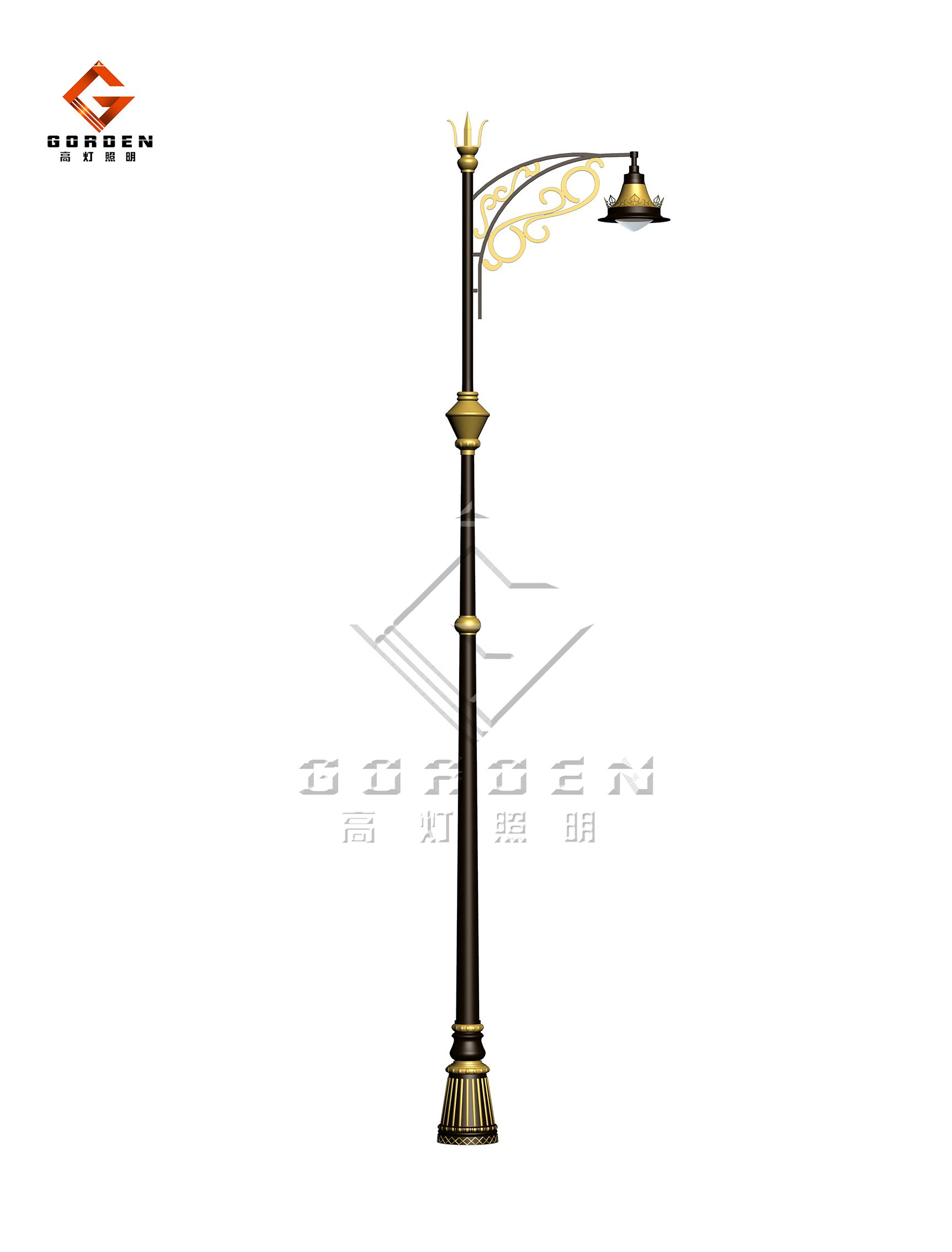 江苏GD-X06 LED现代路灯