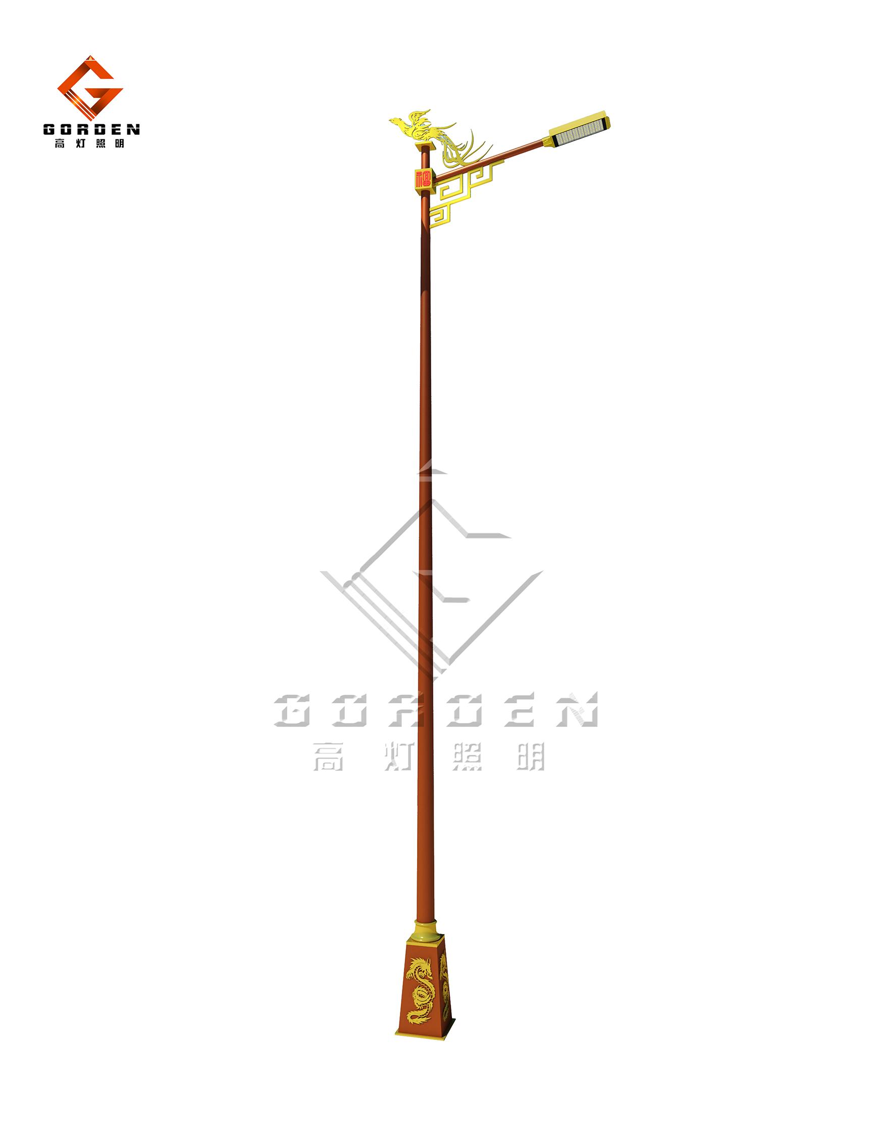 上海GD-X07 LED现代路灯