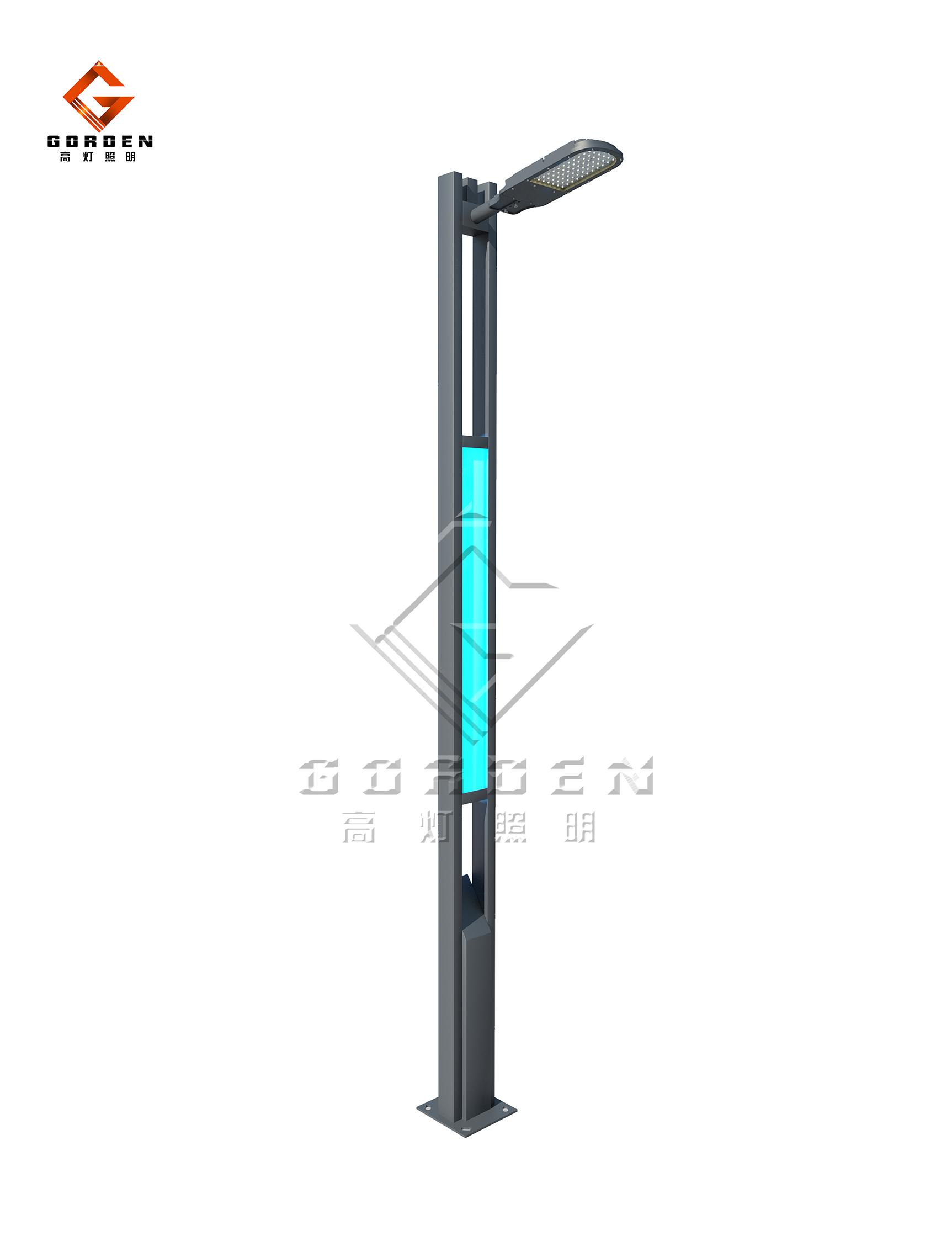 江苏GD-X011 LED现代路灯