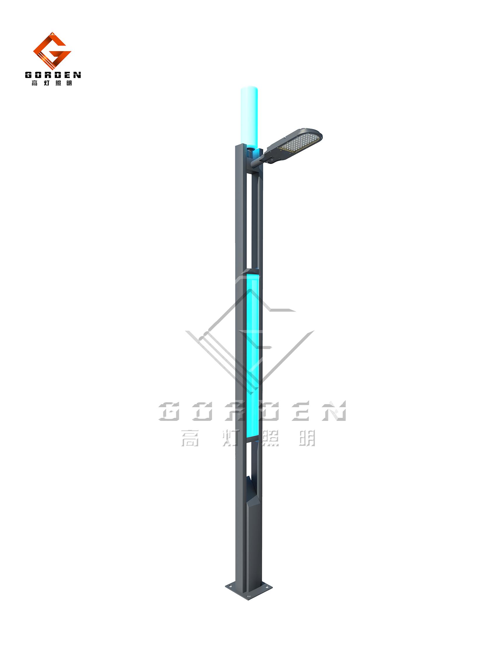 GD-X012 LED现代路灯